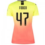 Manchester City Cup Third Shirt 2019-20 - Womens with Foden 47 printing