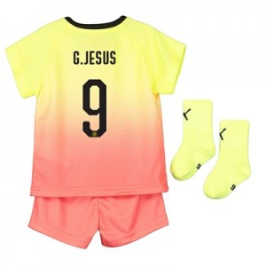 Manchester City Cup Third Baby Kit 2019-20 with G.Jesus 9 printing