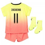 Manchester City Cup Third Baby Kit 2019-20 with Zinchenko 11 printing