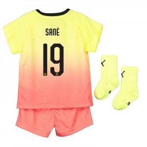 Manchester City Cup Third Baby Kit 2019-20 with Sané 19 printing