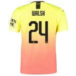 Manchester City Authentic Cup Third Shirt 2019-20 with Walsh 24 printing