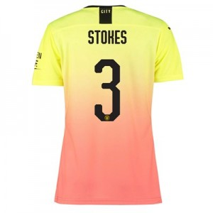 Manchester City Authentic Cup Third Shirt 2019-20 - Womens with Stokes 3 printing