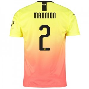 Manchester City Cup Third Shirt 2019-20 with Mannion 2 printing