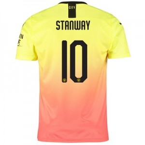 Manchester City Cup Third Shirt 2019-20 with Stanway 10 printing