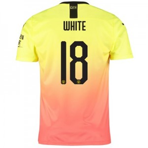 Manchester City Cup Third Shirt 2019-20 with White 18 printing