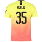 Manchester City Cup Third Shirt 2019-20 with Fidalgo 35 printing