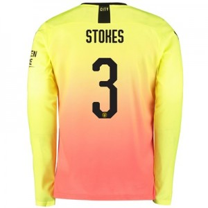 Manchester City Cup Third Shirt 2019-20 - Long Sleeve with Stokes 3 printing