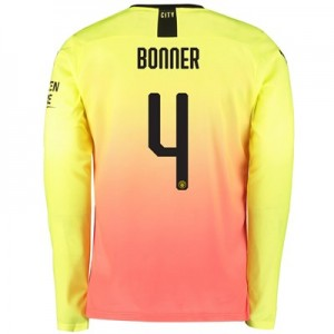 Manchester City Cup Third Shirt 2019-20 - Long Sleeve with Bonner 4 printing