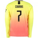 Manchester City Cup Third Shirt 2019-20 - Long Sleeve with Coombs 7 printing