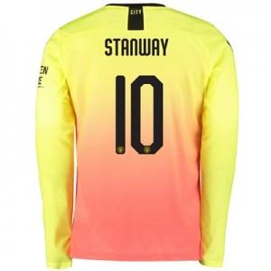 Manchester City Cup Third Shirt 2019-20 - Long Sleeve with Stanway 10 printing