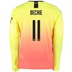 Manchester City Cup Third Shirt 2019-20 - Long Sleeve with Beckie 11 printing