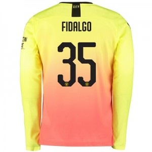 Manchester City Cup Third Shirt 2019-20 - Long Sleeve with Fidalgo 35 printing