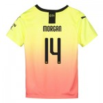 Manchester City Cup Third Shirt 2019-20 - Kids with Morgan 14 printing
