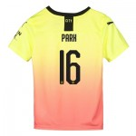 Manchester City Cup Third Shirt 2019-20 - Kids with Park 16 printing