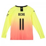 Manchester City Cup Third Shirt 2019-20 - Long Sleeve - Kids with Beckie 11 printing