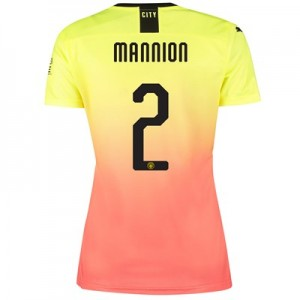 Manchester City Cup Third Shirt 2019-20 - Womens with Mannion 2 printing