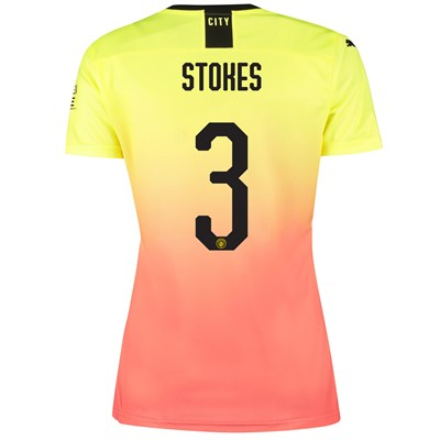 Manchester City Cup Third Shirt 2019-20 - Womens with Stokes 3 printing