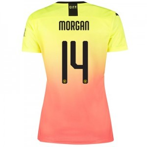 Manchester City Cup Third Shirt 2019-20 - Womens with Morgan 14 printing