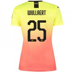 Manchester City Cup Third Shirt 2019-20 - Womens with Wullaert 25 printing