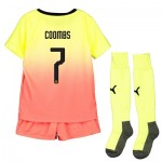 Manchester City Cup Third Mini Kit 2019-20 with Coombs 7 printing