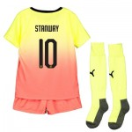 Manchester City Cup Third Mini Kit 2019-20 with Stanway 10 printing
