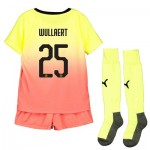 Manchester City Cup Third Mini Kit 2019-20 with Wullaert 25 printing