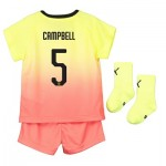 Manchester City Cup Third Baby Kit 2019-20 with Campbell 5 printing
