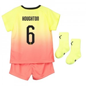 Manchester City Cup Third Baby Kit 2019-20 with Houghton 6 printing