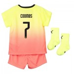 Manchester City Cup Third Baby Kit 2019-20 with Coombs 7 printing