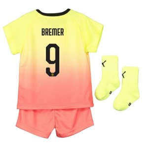 Manchester City Cup Third Baby Kit 2019-20 with Bremer 9 printing
