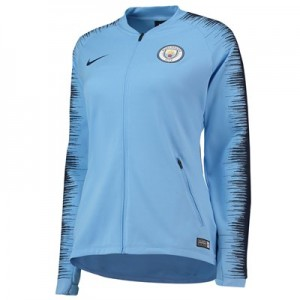 Manchester City Anthem Jacket - Light Blue - Womens