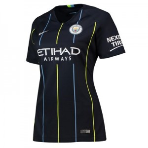 Manchester City Away Stadium Shirt 2018-19 - Womens