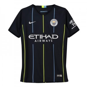 Manchester City Away Stadium Shirt 2018-19 - Kids
