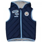 Manchester City Infant Gilet - Navy - Unisex