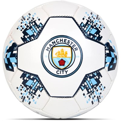 Manchester City Size 2 Nova Football - White