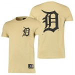 Detroit Tigers Detroit Tigers T-Shirt - Yellow - Mens