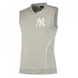 New York Yankees Vest - Grey - Mens