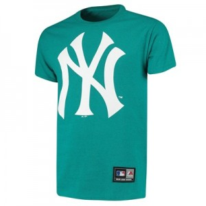 New York Yankees New York Yankees T-Shirt - Aqua - Mens