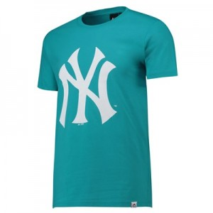New York Yankees Prism T-Shirt - Aqua - Mens