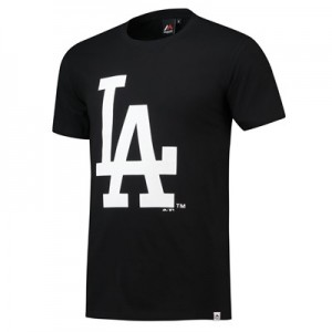 Los Angeles Dodgers Prism T-Shirt - Black - Mens