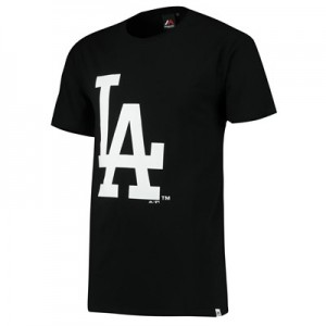 Los Angeles Dodgers Prism T-Shirt  Black - Mens