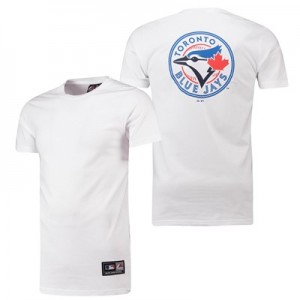 Toronto Blue Jays Longline T-Shirt - Navy - Mens