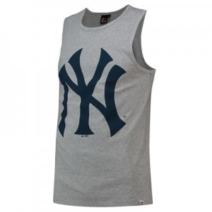 New York Yankees Prism T-Shirt - Grey - Mens