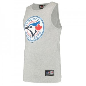 Toronto Blue Jays Prism Vest - Grey - Mens