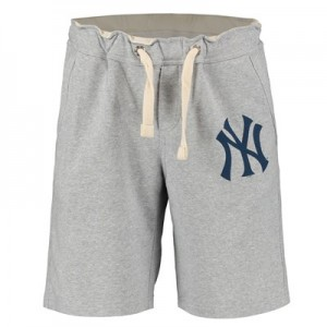 New York Yankees Shorts - Grey - Mens