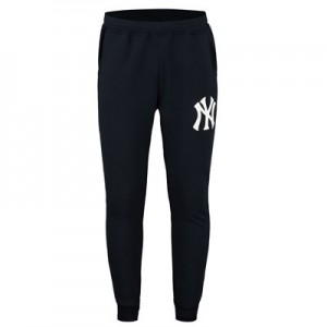 New York Yankees New York Yankees Fleece Joggers - Navy - Mens