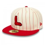 Boston Red Sox New Era Retro Cooperstown 59FIFTY Fitted Cap
