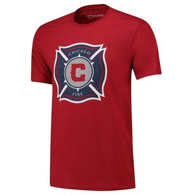 Chicago Fire Core T Shirt - Red - Mens