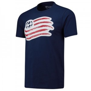 New England Revolution Core T Shirt - Navy - Mens