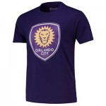 Orlando City SC Core T Shirt - Purple - Mens